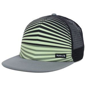 Hurley Neo Glow Foam Mesh Trucker Snapback Cap Hat